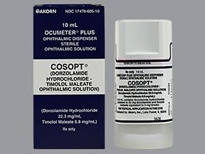 Cosopt 22.3 mg-6.8 mg/mL eye drops