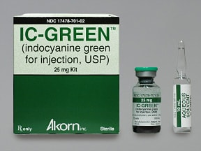 IC Green 25 mg solution for injection