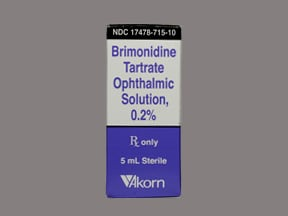 brimonidine 0.2 % eye drops