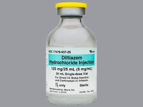 Cardizem Iv Indications