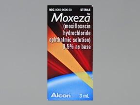 Moxeza 0.5 % eye drops