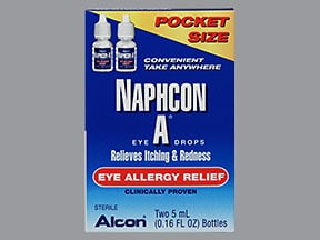 Naphcon-A Ophthalmic (Eye) : Uses, Side Effects