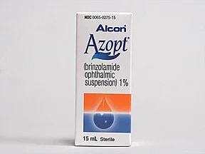 Azopt 1 % eye drops,suspension
