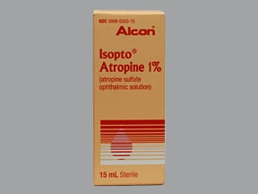 Isopto Atropine 1 % eye drops