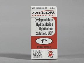 cyclopentolate 1 % eye drops