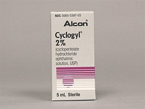 Cyclogyl 2 % eye drops