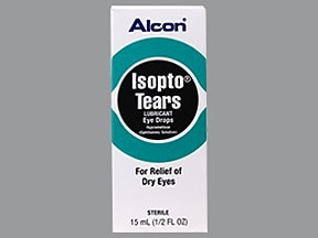 Isopto Tears : Uses, Side Effects, Interactions, Pictures, Warnings