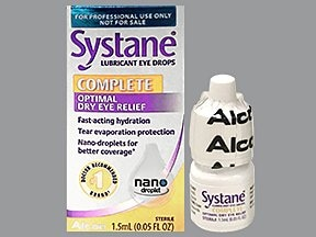 Systane Complete 0.6 % eye drops
