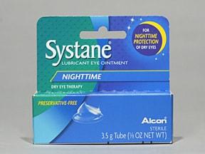 Systane Nighttime 94 %-3 % eye ointment