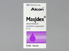 Maxidex 0.1 % eye drops,suspension
