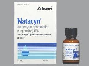 Natacyn 5 % eye drops,suspension