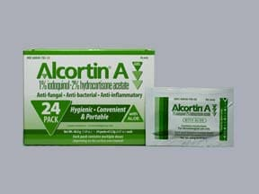 Alcortin A 2 %-1 %-1 % topical gel packet
