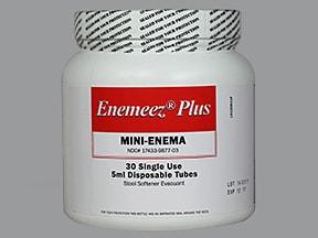 Enemeez Plus 283 mg-20 mg/5 mL enema