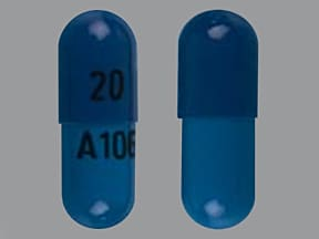 fluoxetine 20 mg capsule