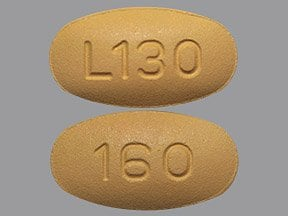 valsartan 160 mg tablet
