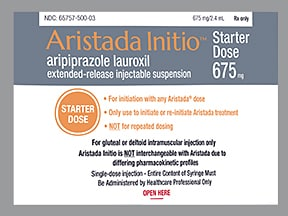 Aristada Initio 675 mg/2.4 mL suspension, extend.rel. IM syringe