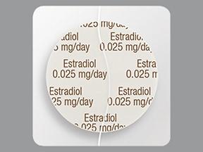 Dotti 0.025 mg/24 hr transdermal patch