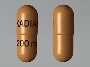 Kadian 200 mg capsule,extended release