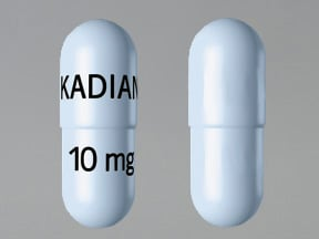 Kadian 10 mg capsule,extended release