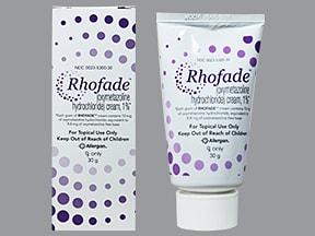 Rhofade 1 % topical cream