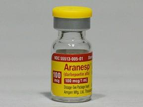 Aranesp 100 mcg/mL (in polysorbate) Injection