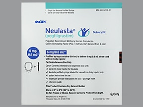 Neulasta 6 mg/0.6 mL with wearable subcutaneous injector