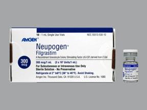 Neupogen 300 mcg/mL injection solution