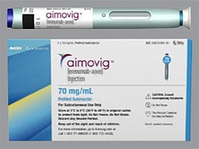 Aimovig Autoinjector 70 mg/mL subcutaneous auto-injector