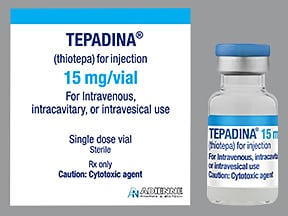 Tepadina 15 mg solution for injection