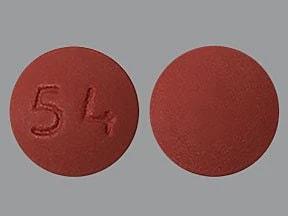 methylphenidate ER 54 mg tablet,extended release 24 hr