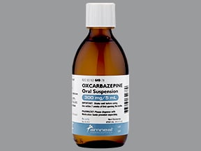 oxcarbazepine 300 mg/5 mL (60 mg/mL) oral suspension