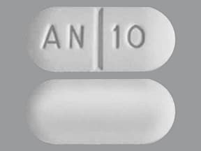 hydrocodone 10 mg-acetaminophen 300 mg tablet