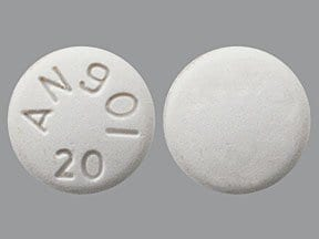 aripiprazole 20 mg tablet