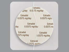 Dotti 0.0375 mg/24 hr transdermal patch
