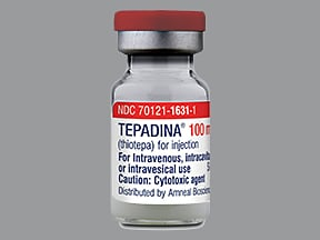 Tepadina 100 mg solution for injection