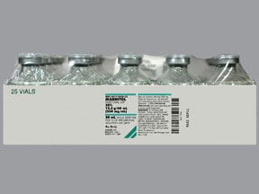 mannitol 25 % intravenous solution