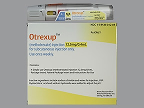 Otrexup (PF) 12.5 mg/0.4 mL subcutaneous auto-injector