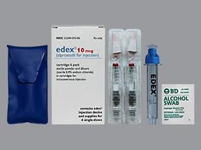 Edex 10 mcg intracavernosal kit