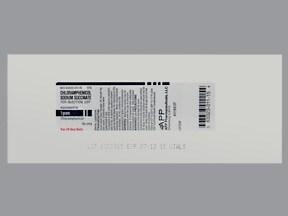 chloramphenicol sodium succinate 1 gram intravenous solution