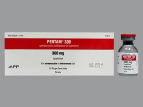 Pentam 300 mg solution for injection