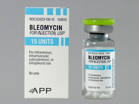 bleomycin 15 unit solution for injection
