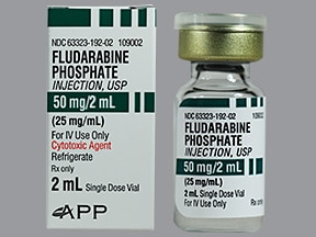 fludarabine 50 mg/2 mL intravenous solution