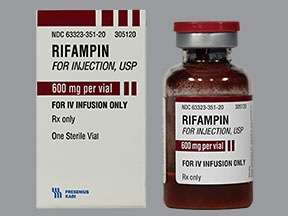 rifampin 600 mg intravenous solution