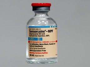 Sensorcaine-MPF/Epinephrine 0.25 %-1:200,000 injection solution