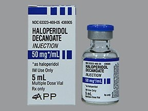 haloperidol decanoate 50 mg/mL intramuscular solution
