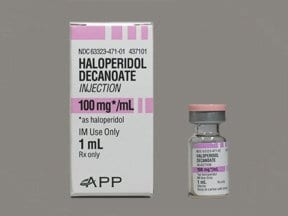 haloperidol decanoate 100 mg/mL intramuscular solution