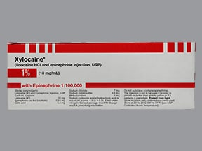 Xylocaine with Epinephrine 1 %-1:100,000 injection solution
