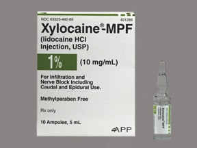 Xylocaine-MPF 10 mg/mL (1 %) injection solution