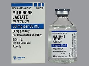 milrinone 1 mg/mL intravenous solution