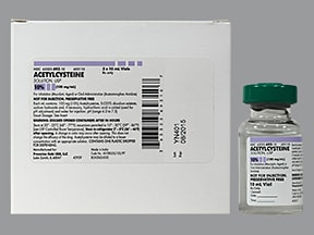 acetylcysteine 100 mg/mL (10 %) solution
